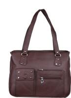 CLASSICFASHION Hand-held Bag(brown)