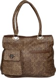Tanishka Exports Messenger Bag (Brown)