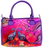 Nirvanaland Hand-held Bag (Multicolor)