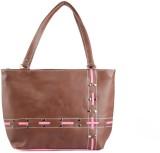 Coash Hand-held Bag (Brown)