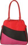 Kraasa Hand-held Bag (Red, Pink, Black)