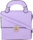 Armadio Hand-held Bag (Purple)