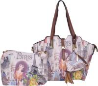 Violet Hand-held Bag(multi -color)