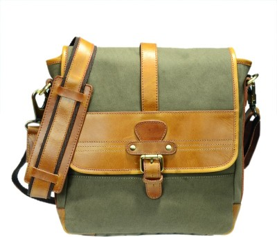 Zakara Messenger Bag(Green)