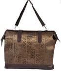 Sale Funda Messenger Bag (Brown, Gold)