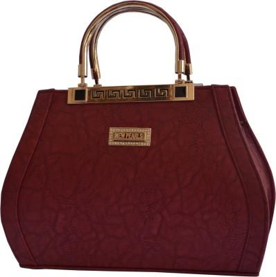 1TRENDZ Hand-held Bag(Maroon)