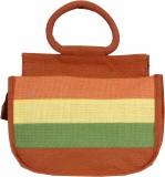 Jute Tree Hand-held Bag (Orange)
