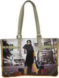 Zaera Shoulder Bag (Beige)