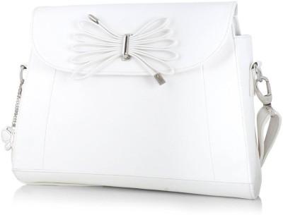 Butterflies Satchel(White)