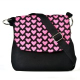 Pick Pocket Messenger Bag (Black)