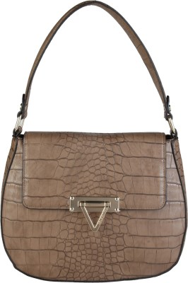 MARIO VALENTINO Hand-held Bag(Brown) at flipkart