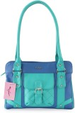 Lady World Shoulder Bag (Blue, Green)