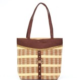 Dolphin Product Shoulder Bag (Brown)