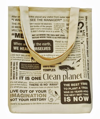 Clean Planet Tote(Shell Cream)