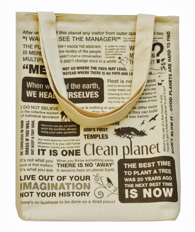 Clean Planet Tote(Beige)