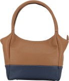 The Runner Hand-held Bag (Blue, Tan)