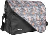 Zwart Messenger Bag (Black, Multicolor)