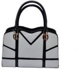 Manni Hand-held Bag (Black, White)