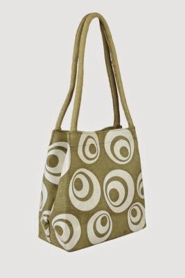 Jute Tree Shoulder Bag
