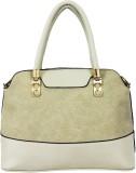 Melange Fashions Hand-held Bag (Beige)
