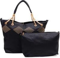 Urban Stitch Shoulder Bag(black)