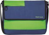Fastrack Messenger Bag (Blue, Green)