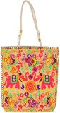 Kwickdeal Tote (White, Multicolor)