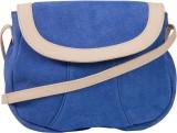 Khiora Women Blue, Beige Genuine Leather...