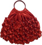 Rosy Hand-held Bag (Red)