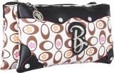 Archies Sling Bag (Black, Beige, Multico...