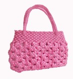 Rosy Hand-held Bag (Pink)
