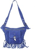 Famous by Payal Kapoor Hand-held Bag (Bl...