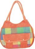 Vakula Exports Hand-held Bag (Orange)