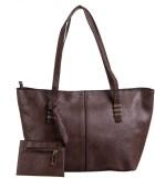 Peaubella Shoulder Bag (Brown)