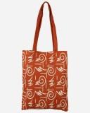 Jute Tree Shoulder Bag (Orange)