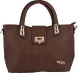 Soleti Hand-held Bag (Brown)