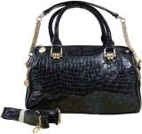ZOOEY Hand-held Bag (Black, Purple)
