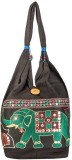 Khatri Handicrafts Messenger Bag (Brown)