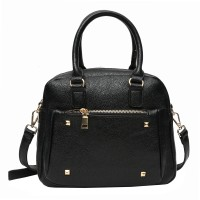 Bluwhale Hand-held Bag(Black)