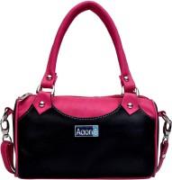 Adone Hand-held Bag(Black, Pink)