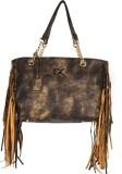 Diana Korr Shoulder Bag (Brown, Beige)