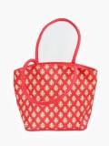 Jute Tree Hand-held Bag (Red)