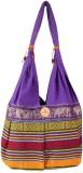 Khatri Handicrafts Messenger Bag (Purple...