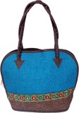 Womaniya Shoulder Bag (Blue, Brown)