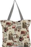 Liza Shoulder Bag (Beige, Black)