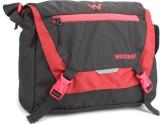Wildcraft Messenger Bag (Black, Red)