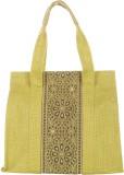 Jute Cottage Hand-held Bag (Green)