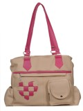 Naaz Bag Collection Hand-held Bag (White...