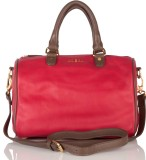 Khiora Hand-held Bag (Red, Brown)