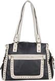 Aadaana Hand-held Bag (White, Black)